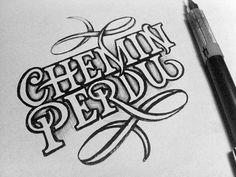 Chemin Perdu -- omg I love this!