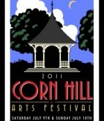 Corn Hill Arts Festival poster (Rochester, NY area) by ___.  Style imitative of American WPA Posters of the 1936-1943 era (http://memory.loc.gov/ammem/wpaposters/wpahome.html).