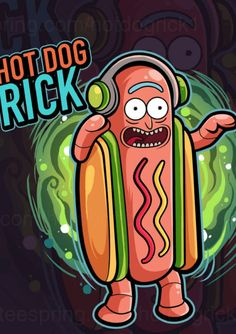 I'm Hot Dog Rick!