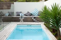 This Randwick garden caters for a young family making use of every space with pool, garden, bbq, entertaining deck and herb garden.