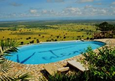 Best Uganda Wildlife Lodges - What a view of Queen Elizabeth national park from Katara Lodge