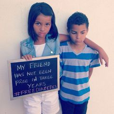 Jonah and Jazmine have been friends since they were babies! She wants her friend to be free! #freediabetics #type1 #type1diabetes #curediabetes #insulinisnotacure #diabetesadvocacy #diabetesawareness #incarcerated #mugshot #jail #possibilityofacure #lifesentence #life #type1diabetesMellitus #weneedacure #diabetessucks #nopricks  #diabeticwarriors #type1survivors