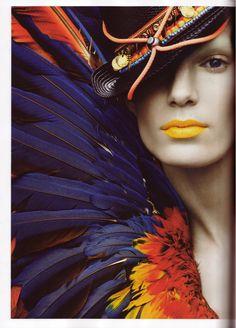 Stefano Moro shoots Iris Strubegger in Etnico Folk