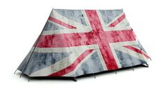 Rule Britannia Tent - 2 Man Camping Tent with a cool Union Jack Flag design. High Specification, Waterproof A-Frame Tent for 4 Season Use. Two Person Tent, British Shop, A Frame Tent, Tent Design, Union Flags, Rule Britannia, Cool Tents, Pitch Perfect, Union Jack