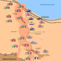 Battle of El Alamein - This Day in History: Oct Second Battle of El Alamein Starts. Greek, Australian and British troops take on the Italian and German forces.