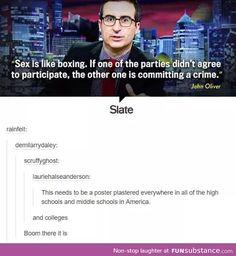 John Oliver speaking the truth yet again John Oliver, Equal Rights, Patriarchy, My Tumblr, Faith In Humanity, Social Issues, Social Justice, Thought Provoking, In This World