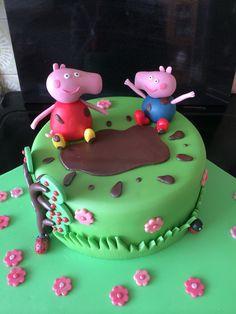 Katie's Pepper Pig cake