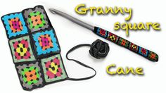 Learn how to make a Granny square crochet with Polymer clay and the millefiori technique. I will show you how to decorate a crochet hook but with slices, you...