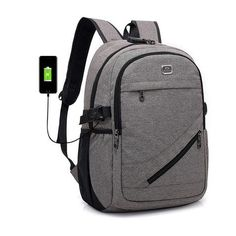 Unisex Backpacks 15 Inch 16 Inch Notebook Computer Bags High Capacity Travel Backpack USB Charging Headset Jack PUBGS 2018 New. Cool Backpacks For Girls, Big Backpacks For School, Trendy Backpacks, Boys Backpacks, Backpack For Teens, Men's Backpack, Under Armour, Sport Outfit, Anti Theft Backpack
