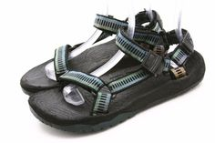 TEVA Mens Shoes Size 10 Terradactyl USA MADE Sport Water River Rubber Sandals #Teva #SportSandals