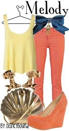 K2 - Disney Princess Inspired on Pinterest | Inspired Outfits Disney Princess and Disney Outfits