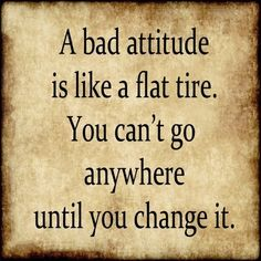 Time to Change Your Attitude?