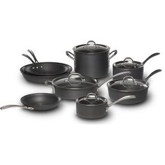 Healthy Cookware Brand #8: Calphalon Commercial Hard-Anodized 13-pc. Cookware Set