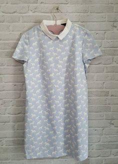 Kup mój przedmiot na #vintedpl http://www.vinted.pl/damska-odziez/krotkie-sukienki/18424142-sukienka-mohito-blekitna-idealna-na-komunie