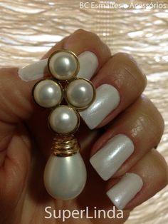 Branco Perolado da Raquel Superlinda:- Esmaltes e Acessórios