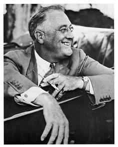 President Franklin D Roosevelt-Cousin!