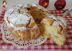 TORTA ALLE PESCHE LATTE E CANNELLA | Le Ricette di Cristy Italian Cake, Italian Desserts, Bread Cake, Pie Cake, Cheesecake Recipes, Dessert Recipes, Sweet Corner, Peach Cake, Bakery Recipes