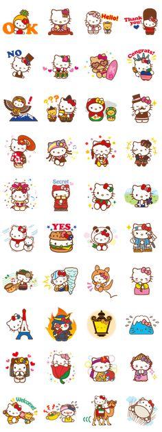 Hello Kitty + Animated Stickers - LINE Sticker