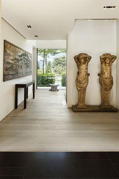 Un appartement rénové par Charles Zana | Villa Cologny rénovation - aménagement - maisons - appartements