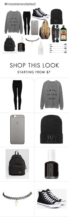 """sccde 2k16"" by missdolananddallas2 ❤ liked on Polyvore featuring Wolford, Native Union, Ivy Park, Eastpak, Essie, Wet Seal and Converse"