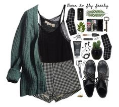 """fly freely"" by zyzabella ❤ liked on Polyvore featuring Inhabit, Prada, Ash, H2O+, DEOS, Monki, H&M and Susanne Kaufmann"