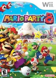 Mario Party 8. They way we can all play on the Wii together :D