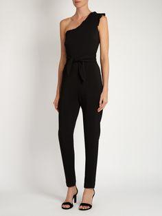 Alice one-shoulder cady jumpsuit | Saloni | MATCHESFASHION.COM US