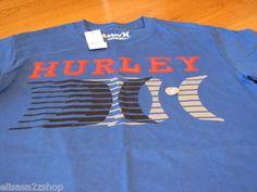 Men's Hurley T shirt small S SM Regular fit royal blue NEW NWT surf skate TEE