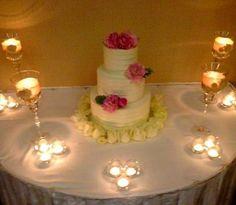 A simple, but beautiful #wedding cake. #Newport
