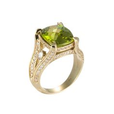 Not the biggest fan of peridot but this ring is beautiful.