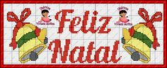 Viviane Alfêna Mais Cross Stitch Quotes, Christmas Cross, Christmas Ideas, Filet Crochet, Plastic Canvas, Cross Stitch Embroidery, Needlework, Lord, Google