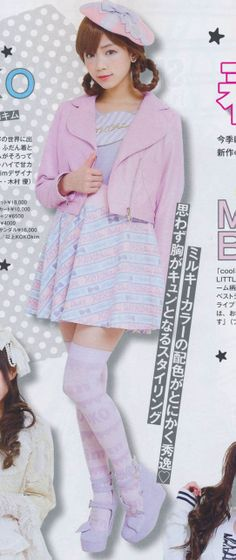 Kaji-Loli (casual Lolita)