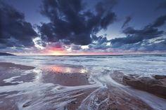 Sunset on Inverness Beach, Cape Breton Island, Nova Scotia, Canada - Pixdaus Inverness Nova Scotia, Cape Breton, Hiking, Waves, Canada, Island, Sunset, Beach, Outdoor