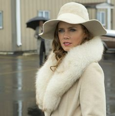 All white 70s style in American Hustle.