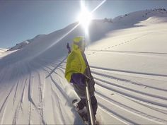Video about snowboard fails during vacation