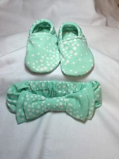 A personal favorite from my Etsy shop https://www.etsy.com/listing/270145860/light-green-with-white-polka-dots-with