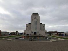 Het zendergebouw van Radio Kootwijk
