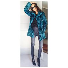 "Barbara Martelo Official on Instagram: ""Getting colder.. Not worried #saintlaurent#love#thecoat#readyforwinter"""