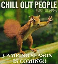 Only 20 degrees outside today... But on the bright side, there's just 108 days left till #summer!  ⛺ ...  #CrazyForcamping #optimist #fun #funny #travel #outdoors #camper #camping #roadtrip #vacation