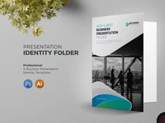 Presentation Folder Template designed by BdThemes. Letterhead Template, Brochure Template, Flyer Template, Presentation Folder, Business Presentation, Professional Presentation, Brochure Design Layouts, Booklet Design, Folder Design