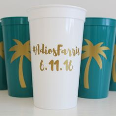 PARTY CUPS | bachelorette, wedding, girls weekend, birthday, any occasion