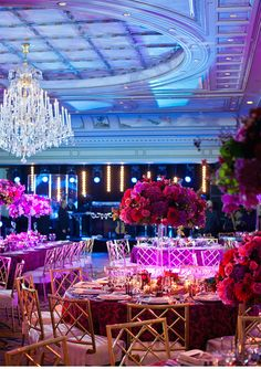 Our Muse Paris Luxury Wedding Be inspired by Lucas and Thierry's luxurious Paris wedding set in shades of elegant purple and gold ceci Reception Party, Wedding Reception Decorations, Wedding Themes, Wedding Table, Wedding Colors, Wedding Ceremony, Wedding Flowers, Reception Ideas, Wedding Centerpieces
