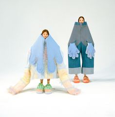 Beate Karlsson makes claw shoes and fake bums from silicone