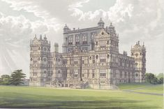 Wollaton Hall from Morriss Seats of Noblemen and Gentlemen (1880) - Wollaton Hall - Wikipedia, the free encyclopedia