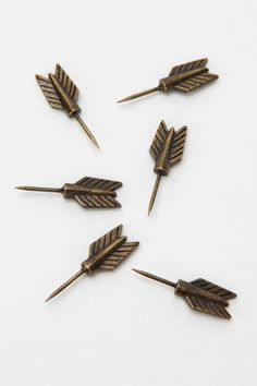 Archer Pushpin - Set Of 6  - need now forever.