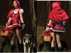 Fantasia Chapeuzinho Vermelho Alto Luxo Pronta Entrega - KRONER FANTASIAS