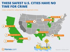 Safety First! These are The 10 Safest U.S. Cities for Your Next Move!