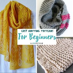 Every knitter has to start his or her love affair with yarn somewhere, as a beginner. If you're just starting yours, start with these Easy Knitting Patterns for Beginners.