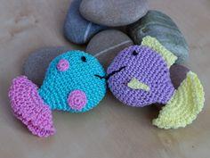 Crocheted Fish Squeaker – a free pattern | MyCrochetProjects