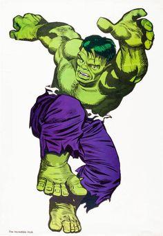 (Incredible Hulk By Jack Kirby. Green Hulk Appreciation last edited at PM. Reason: Good God, didn't know it was THAT big. Marvel Comics Superheroes, Marvel E Dc, Marvel Comic Universe, Marvel Characters, Marvel Heroes, Comic Book Artists, Comic Books Art, Comic Art, The Incredible Hulk Marvel